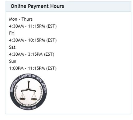 Njmc Direct Online Portal Payment timings
